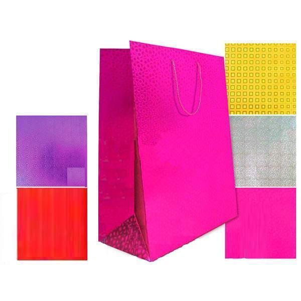 """Подарочный пакет """"Голография"""", 45 x 32 см"""