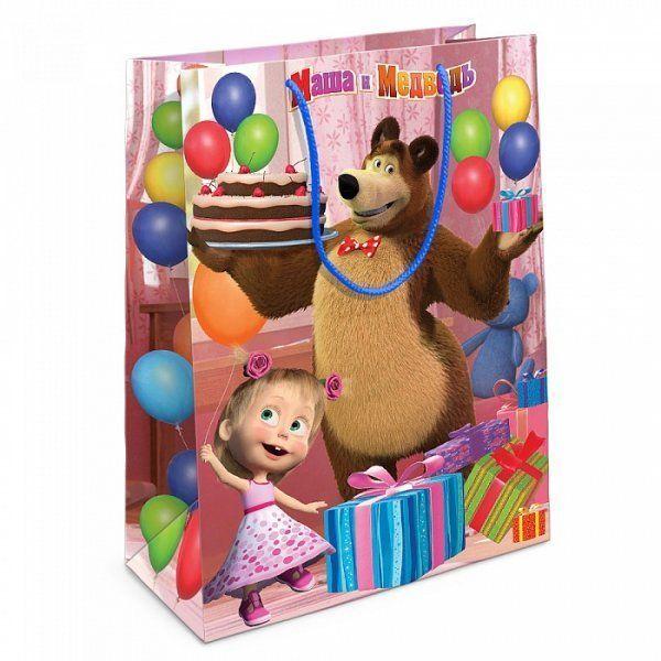 """Подарочный пакет """"Маша и Медведь"""" - Приключения Маши"""