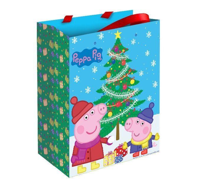 """Подарочный пакет """"Свинка Пеппа"""" - Пеппа Зимой"""
