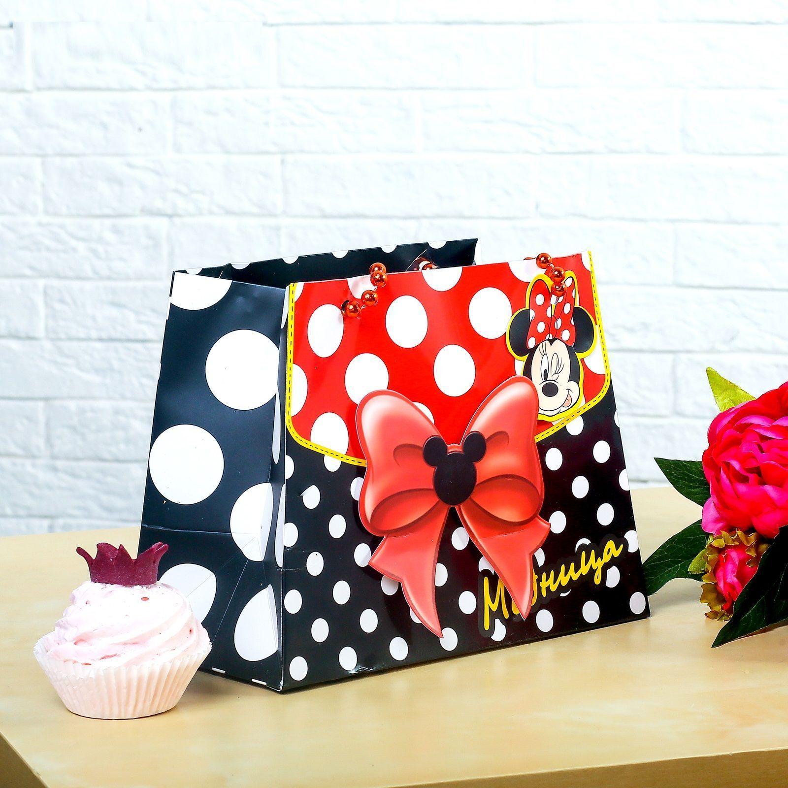 """Пакет-сумка """"Минни Маус"""" - Модница"""