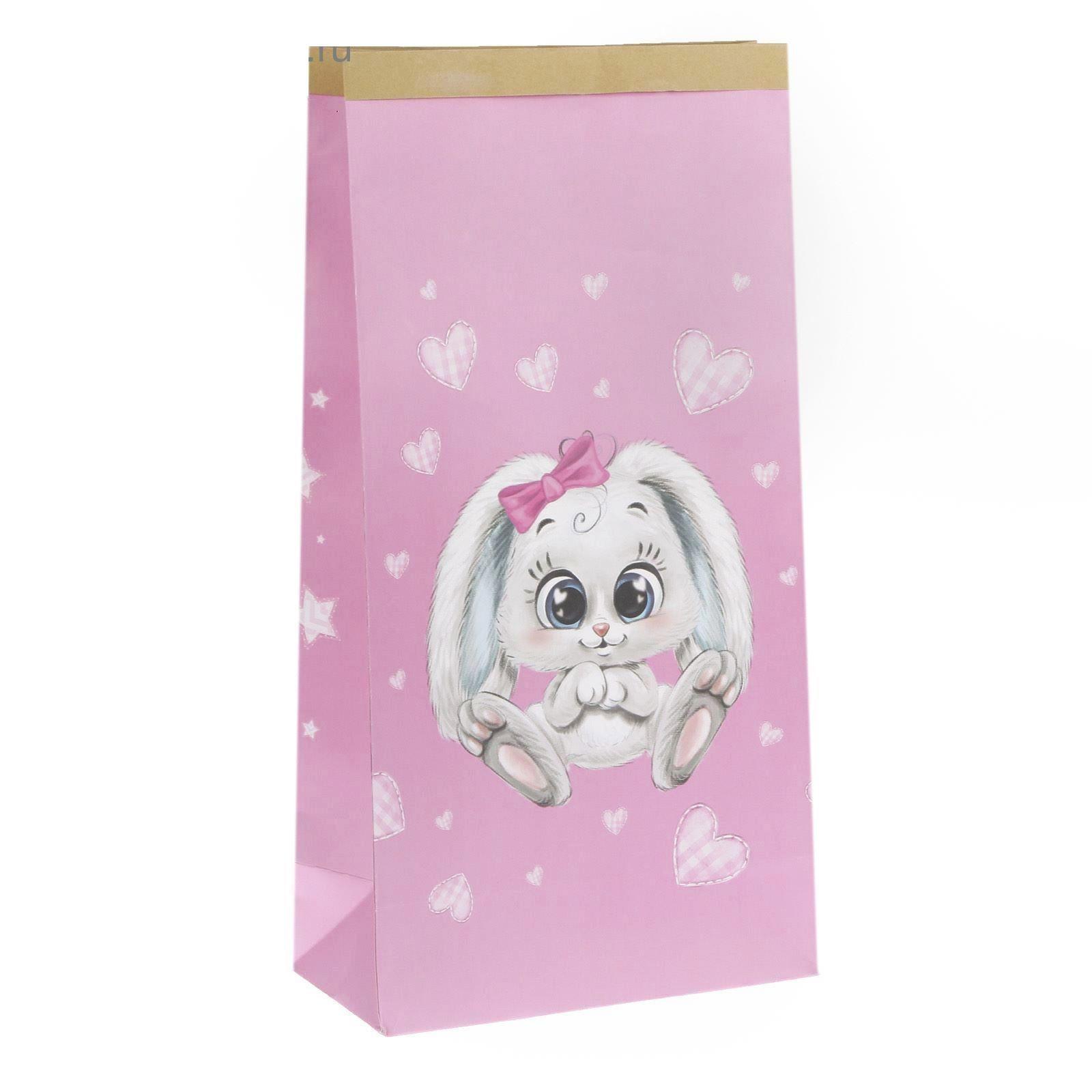 "Крафтовый пакет ""Любимая малышка"", 32 х 64 см"