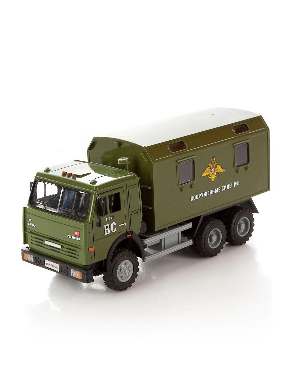 Инерционный военный грузовик (свет, звук)