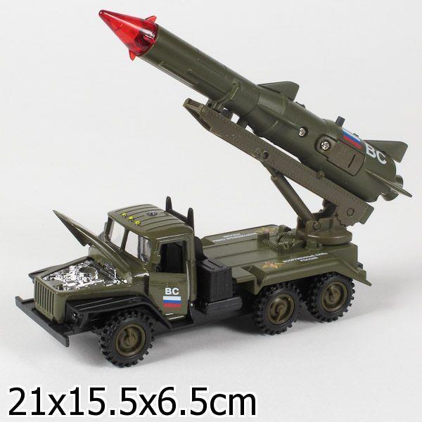 """Машина с ракетой """"Вооруженные силы"""" (свет, звук)"""