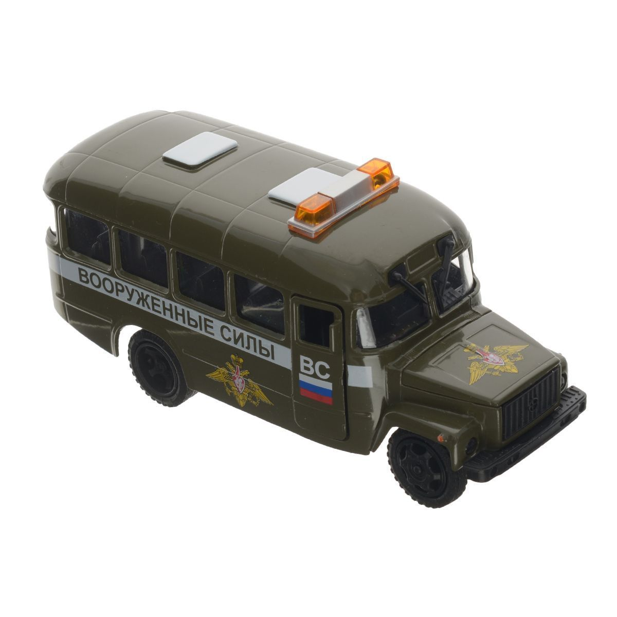 """Автобус """"Вооруженные силы"""" (свет, звук)"""