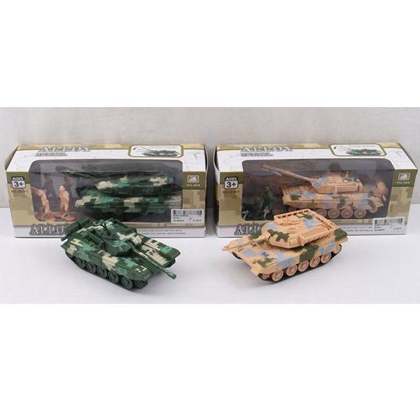 Танк Alloy Model с солдатиками