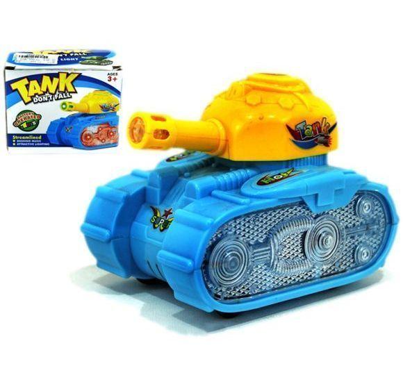 Интерактивная игрушка Super Tank (свет, звук), 12 см