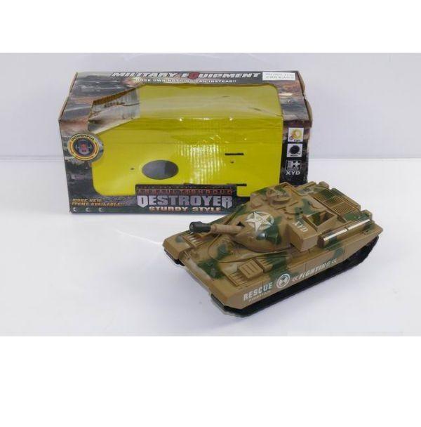 Интерактивный танк Destroyer (на бат., свет, звук)
