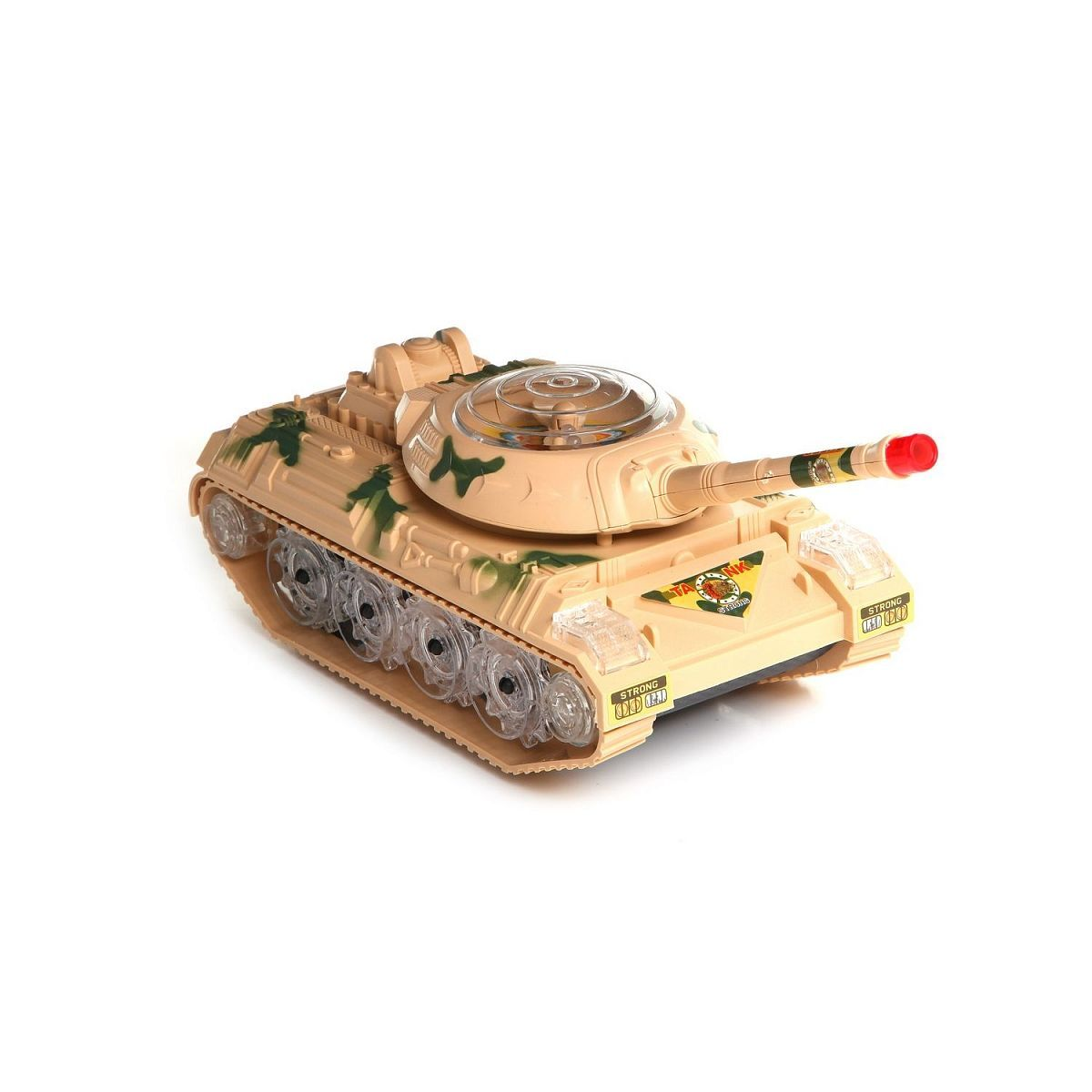 "Пластиковая игрушка Super Tanks ""Танк"" (свет)"