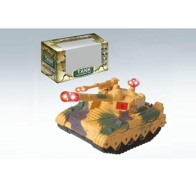 Игрушечный танк World of Tanks (свет, звук)