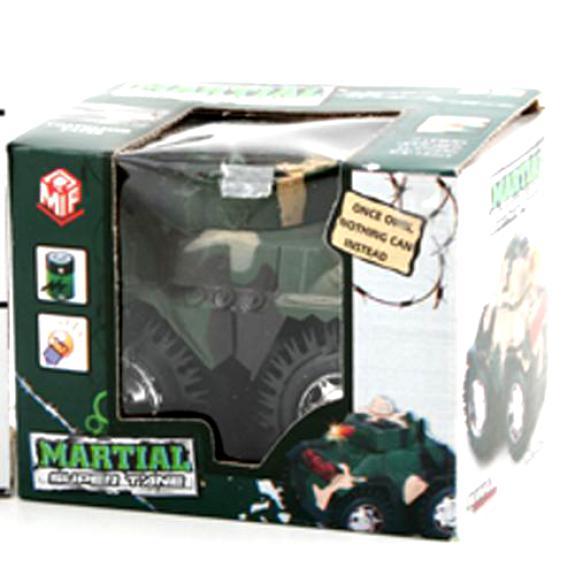Игрушечный танк Martial, зеленый