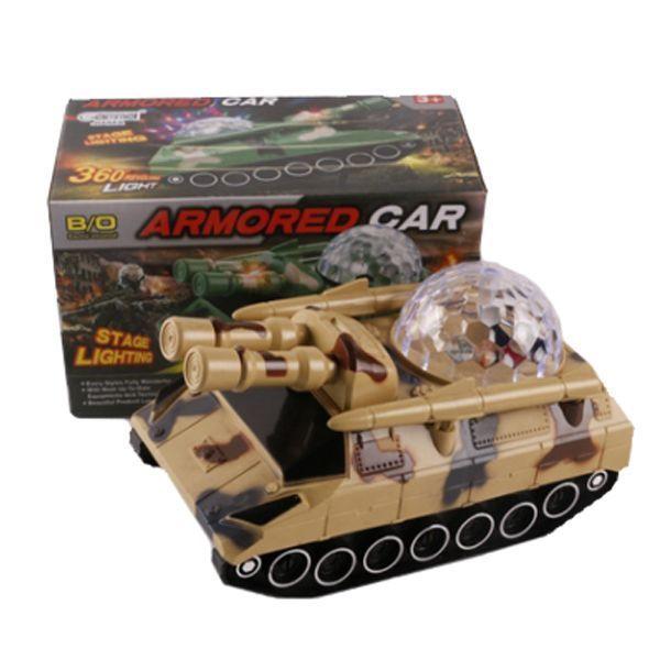 Игрушечный танк Armored Car (свет, звук)