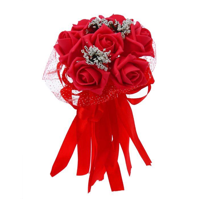 """Букет """"С нежностью"""" 7 цветов, красный"""