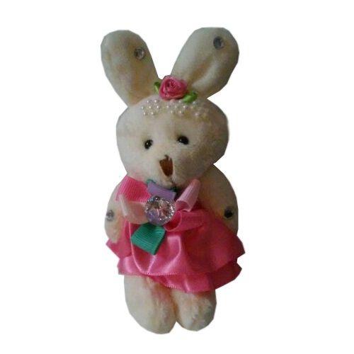 """Набор для создания букета из 3 мягких игрушек """"Клубничка"""", розовый"""