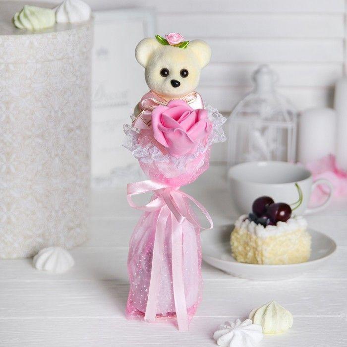 """Букет """"От всей души!"""" + розовый цветок"""