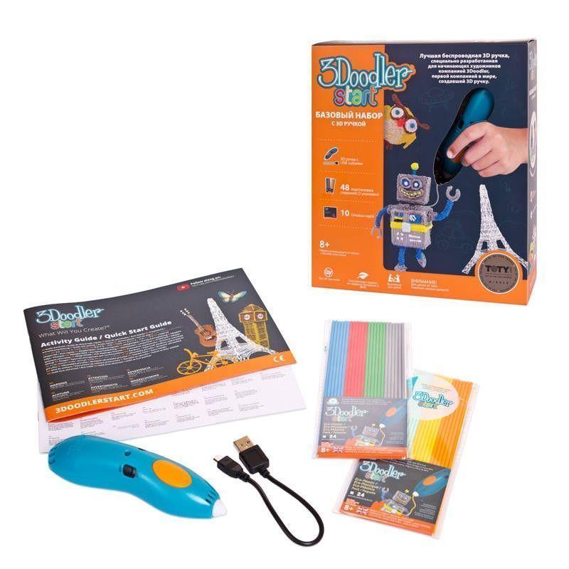 Базовый набор с 3D-ручкой 3Doodler Start