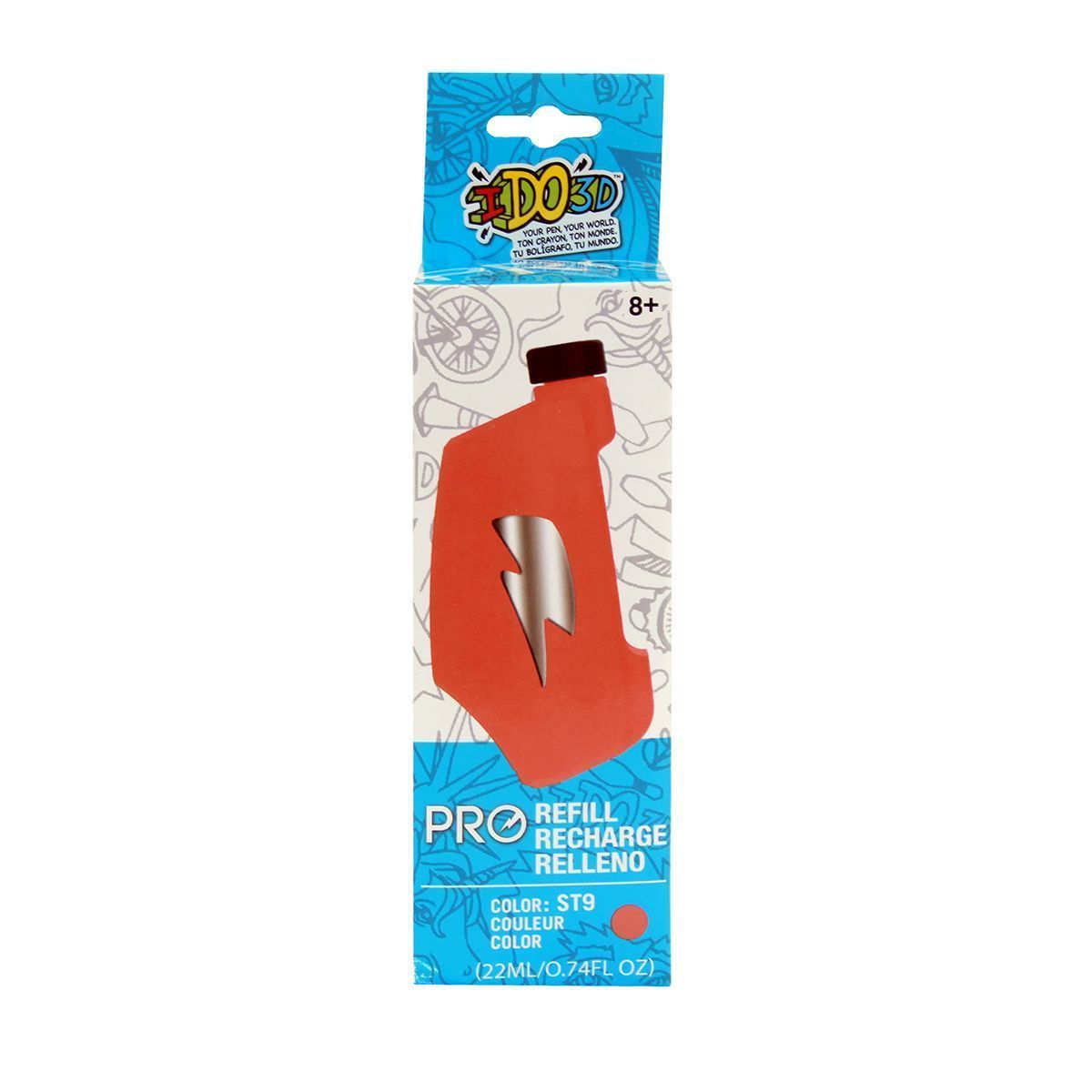 "Картридж для 3D-ручки ""Вертикаль Pro"", розовый"
