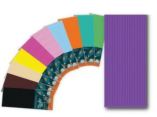 Эко-пластик к 3Д ручке 3DOODLER START Фиолетовый 24 шт.