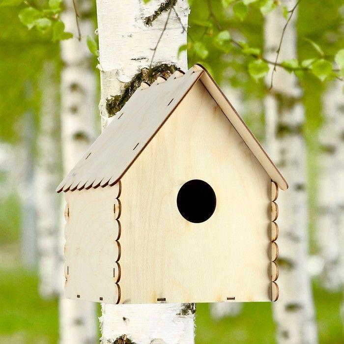 "Кормушка для птиц ""Избушка"", 25×21×18 см"