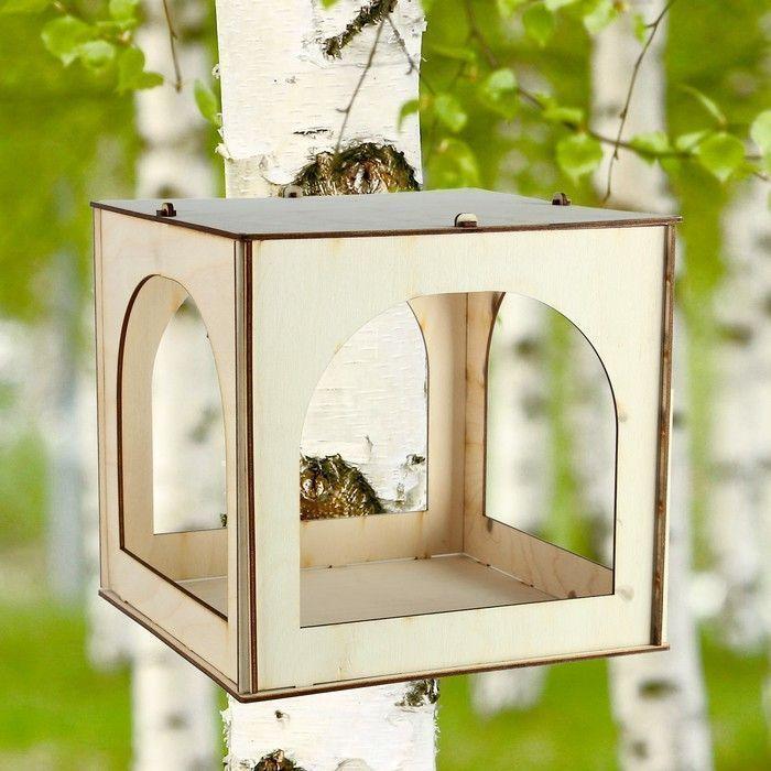 """Кормушка для птиц """"Палатка"""", 24×25,5×25 см"""