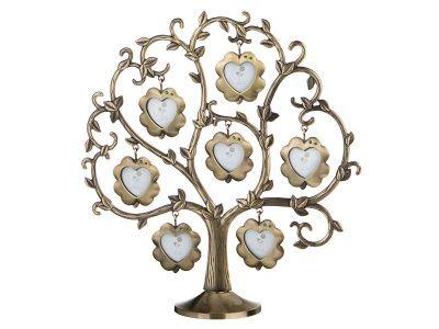 Фоторамка-дерево 25*9.5*26см на 7 фото 4*4 см