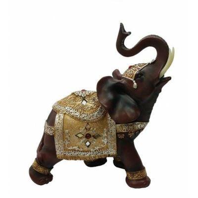 Фигурка декоративная Слон, 22х11х24,5 см