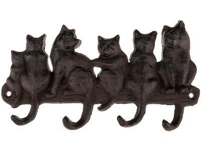 """Крючок настенный """"кошки"""" 22*13*2 см."""