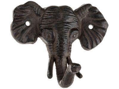 """Крючок настенный """"слон"""" 12*10*3 см."""