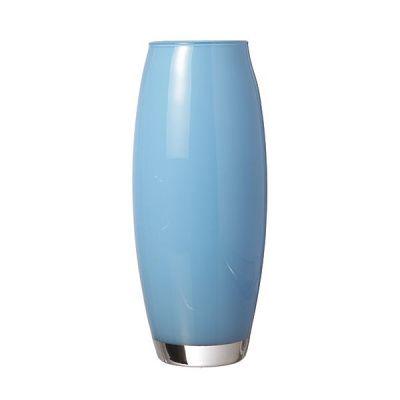 """Ваза """"флора"""" голубая высота 26 см."""