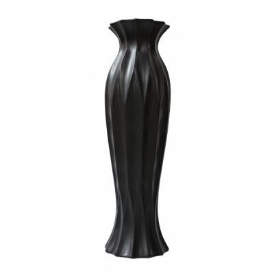 """Стильная керамическая ваза """"Струящая ткань"""""""