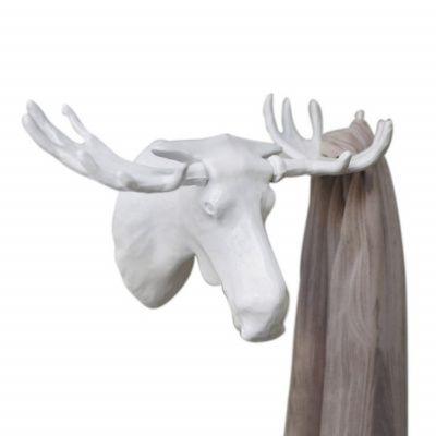 Вешалка moose белая