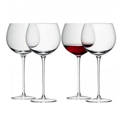 Набор из 4 круглых бокалов для вина wine 570 мл