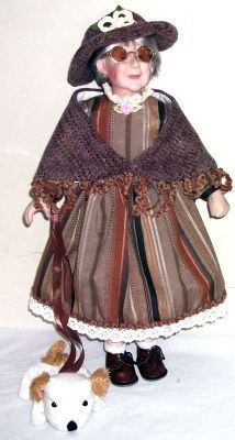 Фарфоровая кукла Генриетта TP (WA1256TA) 41 см