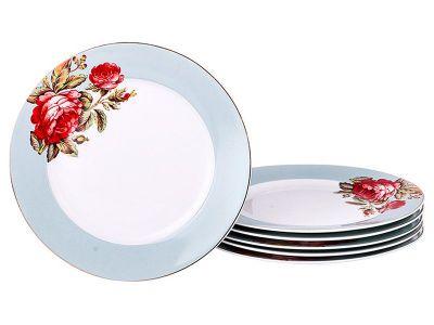 Набор десертных тарелок из 6 шт.диаметр 20 см.
