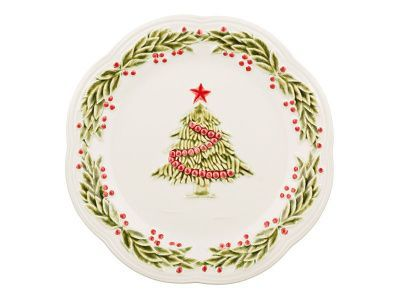 "Тарелка десертная ""christmas fairytale"" диаметр 21 см. без упаковки"