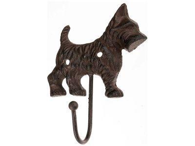 "Крючок настенный ""собака"" 14*12*4 см."