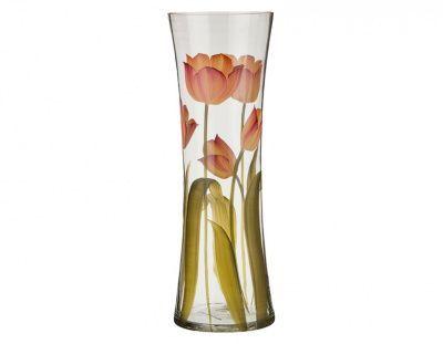 "Ваза талия ""тюльпан"" диаметр 14 см. высота 40 см."