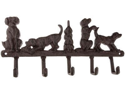 """Крючок настенный """"собаки"""" 36*17*3 см."""