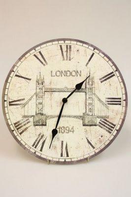 Настенные часы Старый Лондон: Тауэрский мост