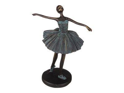 "Статуэтка ""балерина"" 19.7*13*28.3см. коллекция ""ар-нуво """