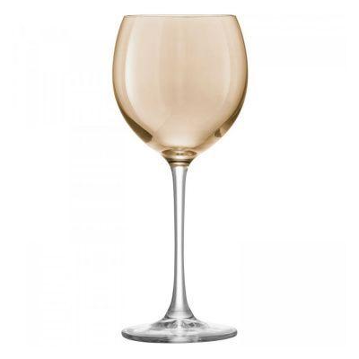 Набор из 4 бокалов для вина polka 400 мл металлик