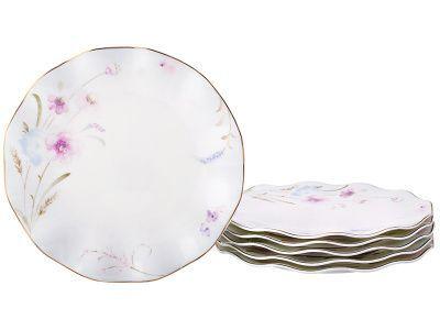 Набор десертных тарелок из 6 шт. диаметр 21 см.
