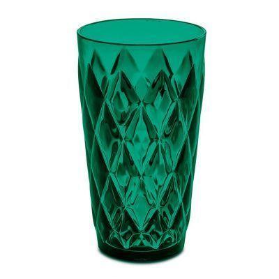 Стакан crystal l, 450 мл, зелёный