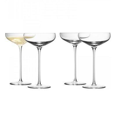 Набор из 4 бокалов-креманок wine 300 мл