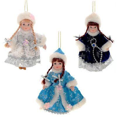 """Кукла """"Снегурочка"""", 11 см, 3 в"""