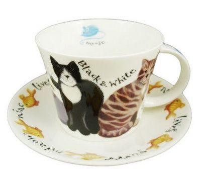 Чайная пара Коты на прогулке TP COWHI1110