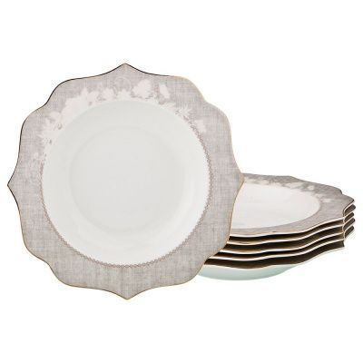Набор из 6-ти суповых тарелок диаметр 21,5 см