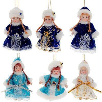 Кукла Снегурочка, 9 см, 6 в