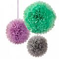 Бумажные шары помпоны