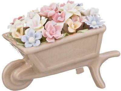 """Статуэтка """"садовые цветы"""" 8*5*5,5 см."""