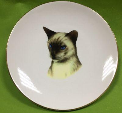 Настенная тарелка Сиамский кот